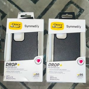 Otter Box iPhone 12 Pro in Black